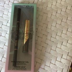 Anastasia Power Duo Brow Wiz mini dipbrow gel new